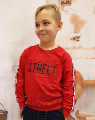Bluza Street - Czerwony
