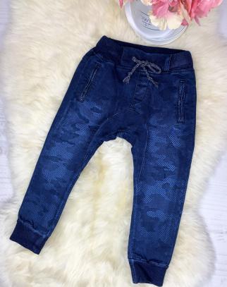 Spodnie jeans baggy moro - HIT