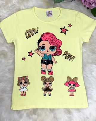 Bluzka z laleczkami Lol - Cytrynka
