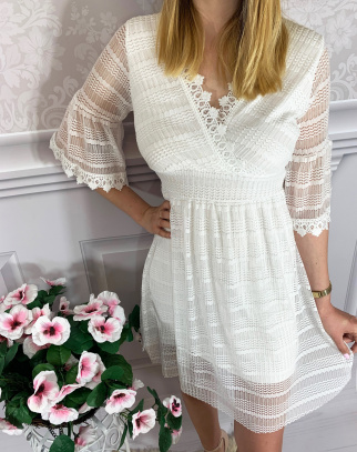 Sukienka White Pearl