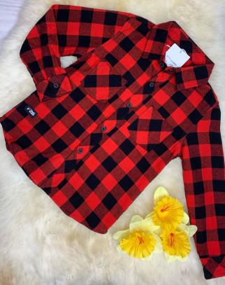 Koszula chłopięca  BLACK &RED