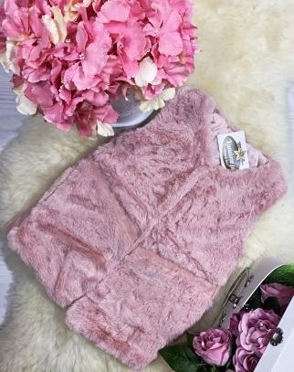 Kamizelka Sugar Pink  - kolor różowy