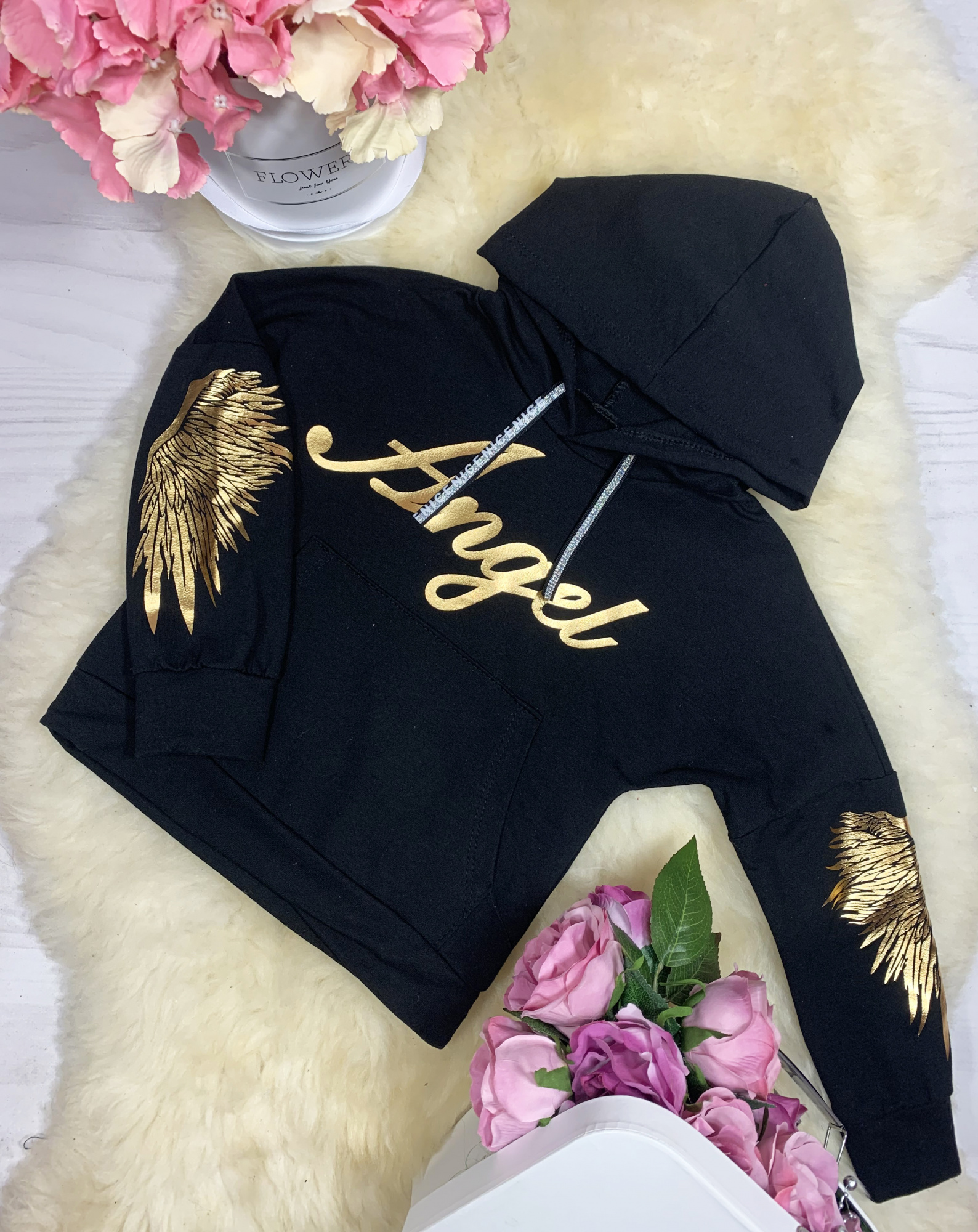 Bluza Angel Black HIT vanilove.pl