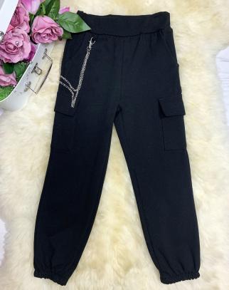 Spodnie bojówki - kolor czarny