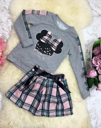 Komplet Lucky Bluza + Spódniczka