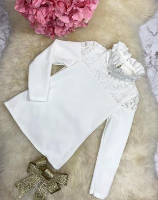 Bluzka Gabrielle - kolor ecru