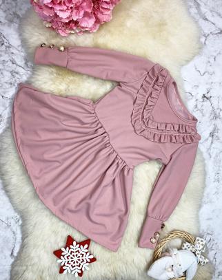 Sukienka Rosalia - kolor różowy