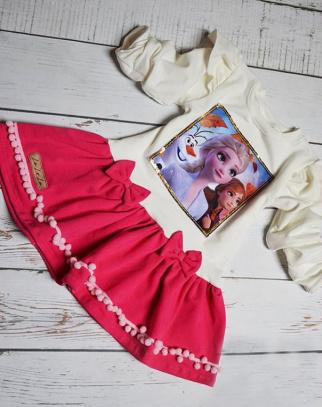 Sukienka Kraina Lodu II Elsa