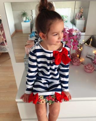 Sukienka Chloe z kokardą
