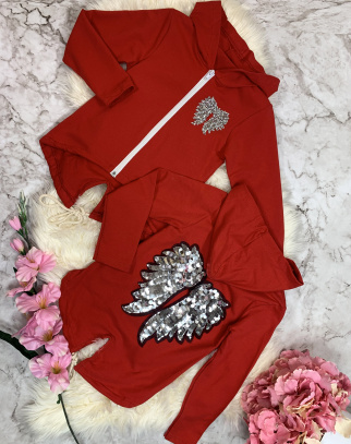 Bluza Angel Wings - Red