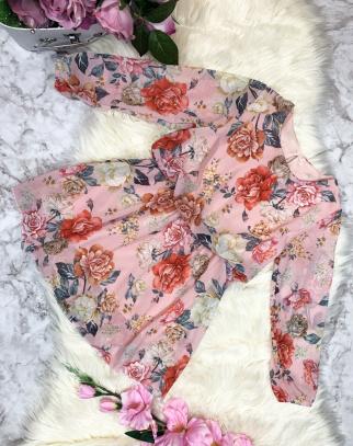Sukienka Spring Flowers-Róż