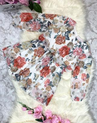 Sukienka Spring Flowers-Biel