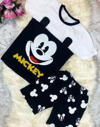 Komplet Myszka Mickey - biały