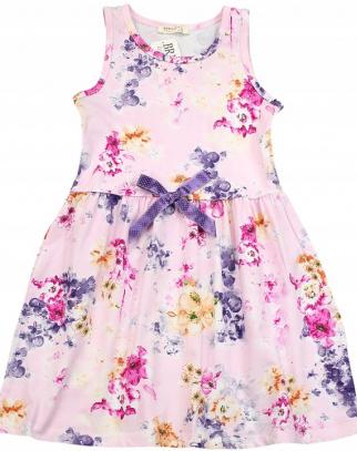 Sukienka bawełniana kwiatowa