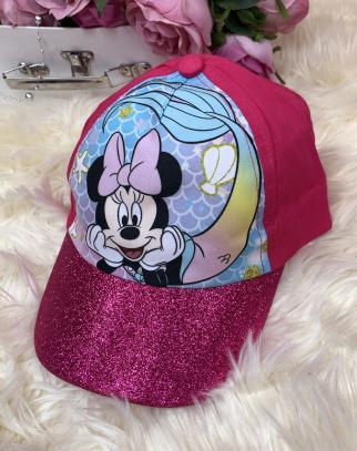 Czapka z daszkiem Mickey Mouse- fuksja