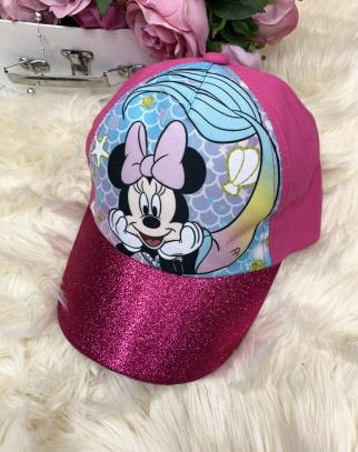 Czapka z daszkiem Mickey Mouse - róż