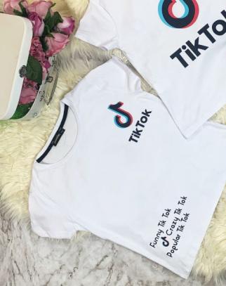 Bluzka Tik Tok White