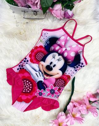 Kostium kąpielowy Mickey Mouse-Malina