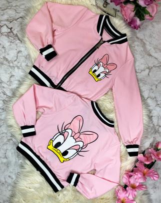 Bluza bomberka Daisy- Pink