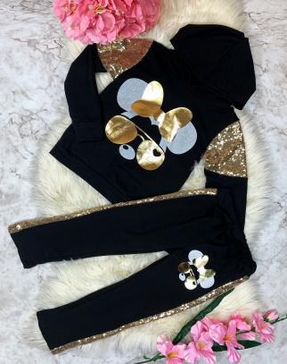Komplet Dresowy Gold Mickey