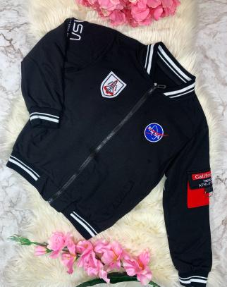 Bluza chłopięca NASA - czarny