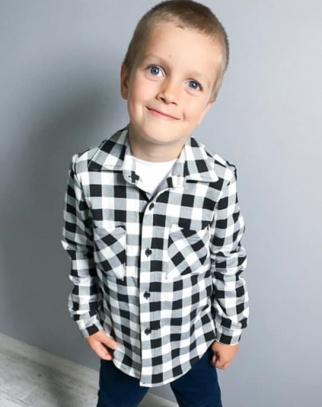 Koszula chłopięca Black&White