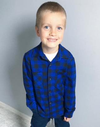 Koszula chłopięca Blue&Black