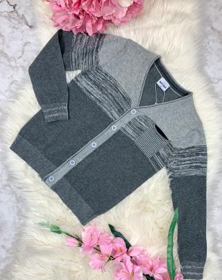 Sweterek chłopięcy Grey