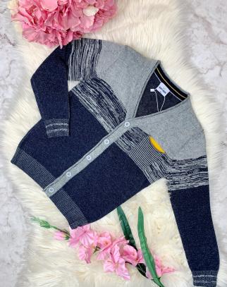 Sweterek chłopięcy Granat