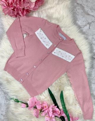 Sweterek Pearls Pink