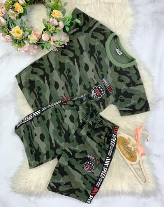 Komplet Dla Chłopca Military Summer