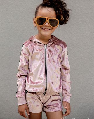 Komplet dresowy dla Dziewczynki Mia Love - Pink
