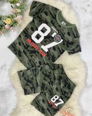 Komplet dla Chłopca Military Team