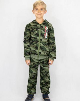 Komplet dla chłopca Super Military Boy RED