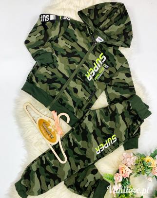 Komplet dla chłopca Super Military Boy GREEN