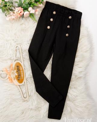 Spodnie dla dziewczynki Blacky