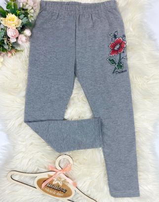 Legginsy Roses Grey