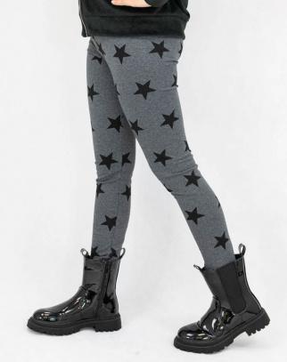 Legginsy dla dziewczynki  Stars Grey