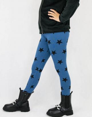 Legginsy dla dziewczynki Stars Blue
