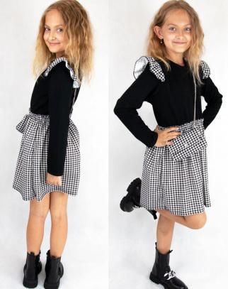 Sukienka dla Dziewczynki Sophie w kratkę