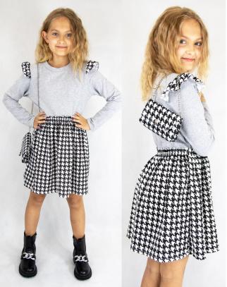Sukienka dla Dziewczynki Sophie w pepitkę