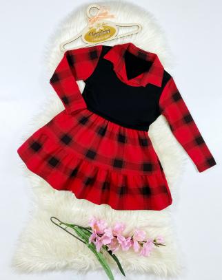 Sukienka ocieplana dla Dziewczynki Ginny