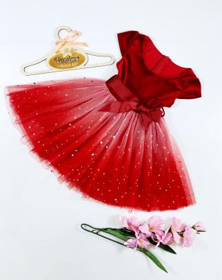 Sukienka dla Dziewczynki Amanda Red