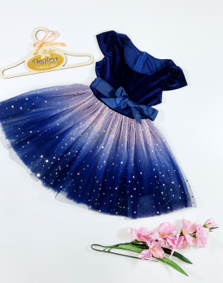 Sukienka dla Dziewczynki Amanda Blue
