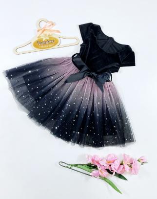 Sukienka dla Dziewczynki Amanda Black