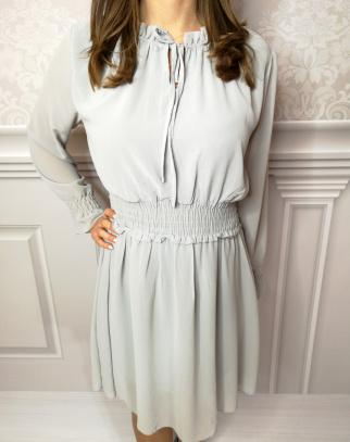 Sukienka Venezia - kolor gołębi szary